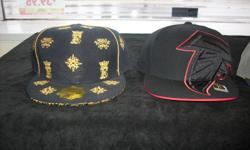 Men's Fitted Hats $15/$20 each, Brand new. Black skull caps, $5. Also have variety colors of plain tee's. Sizes up to 4x. 267 Kenmore Ave. 11am-7pm mon-fri 12pm-3pm sat-sun (716) 783-7853