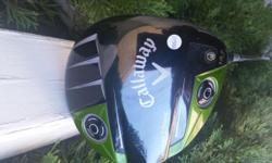 Men's light flex Razr Fit Extreme 13.5 deg.loft driver, only hit a couple dozen times, I like the club it is lightweight and easy to swing, but has too much loft for me, I am currently using a 10 deg. loft driver. Still in great shape,