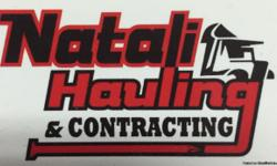 Natali Hauling and Contracting Contstuction site cleanup, property (garages, sheds basement, yards) estate clean up, light demolition and hauling. Seasonal yard cleanup. Fully insured and licensed. 724-518-6572