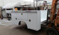 Do you need a Utility Body, Stake Bed, Flat Bed, Dump Bed, Ladder Rack, Lift Gate, or just custom work well we can do it all here in our shop we can do transfers of your body to your truck or we can supply you with a new or refurbished one. We also do