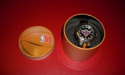 Brand new New York Knicks quartz watch with black and orange band. Watch comes in a NBA tin. $20 267 Kenmore Ave. 11am-7pm mon-fri 12pm-3pm sat-sun (716) 783-7853