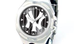 Know when your favorite team is playing with this New York Yankees Victory Watch made by Game Time! This watch has an adjustable sport buckle and stainless steel case backing for comfort and durability!Click here to BUY Visit: www.teamsportstrends.com