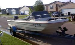 Awesome Boat & Trailer For Sale / 69 Thunderbird - Tri hul - Fiberglass Boat / Skeeters Trailer / 77 Murcury Motor Runs Smooth - Auto Tilt Trim / 2001 minikota troiling motor - Auto pilot 65 torque 5 ft shaft / plus some Extras ...