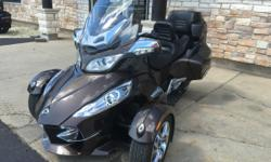 Nice Pre-Owned 2012 Can-Am Spyder RT Limited Motorcycle in Lava Bronze Metallic, 24,000 miles, stock #M1731a, FULLY LOADED with tons of extras including over $2,000.00 worth of LED lights, upgraded seat, and much more! NOW JUST $15995 ONLY AT JIM POTTS