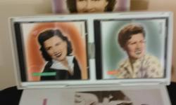 Patsy Cline collecter set includes book biography & her complete music CD collection never opened.