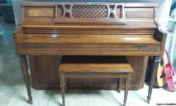 A great piano that has been in the family educating generations. And now is ready to go to a fine familly and continue its excellent job.