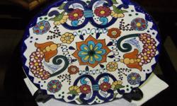 TALAVERA MEXICO POTTERY CHARGER