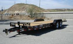 Huge discounts have been taken!! all 2012 models on sale only while supplies last!!! all sale prices have been listed on our website!! We have a few different sizes of tilt bed trailers in stock- 16' & 18' Feel free to visit our website to find the