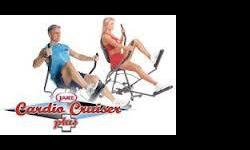 Product Description The Cardio Cruiser has a revolutionary design that combines the powerful cardio and body sculpting movement of three of the most popular gym machines. You get the comfort of the recumbent bike, the upper body toning motion of the