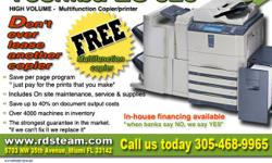 """NEVER LEASE ANOTHER COPIER AGAIN!  RESTORED DIGITAL SOLUTIONS is offering a """"FREE TOSHIBA ES 523 MULTIFUNCTION COPIER"""" with the purchase of a service agreement, tailored to meet your needs. WHY spend more than you have to, we can"""
