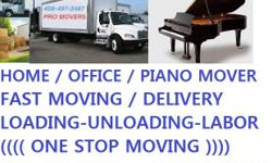 ALL PRO BAY AREA MOVERS  ONE STOP MOVING SOLUTION  CALL OR TEXT (408)497-3487