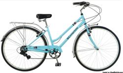 I have a two new Mens & Womens Schwinn Wayfarer 7sp bicycles and they come with - Helmet, Lock and frame pump
