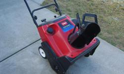 snowthrower is in great running condition