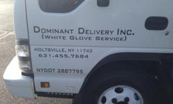 Dominant Delivery; Licensed and Insured; 16ft Box Truck w/liftgate Dominant Delivery is a (White Glove Service) based out of Holtsville, NY. We?re a fully licensed and insured White Glove delivery service. We provide a professional and supreme delivery