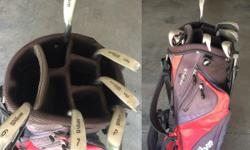 These are in pretty good condition they have been used for 2 years and they are good clubs for starters.