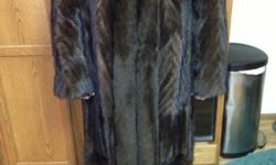 For sale my only wore once had to have full lenght Mink Tail Coat. Xl from Macys. Beautiful coat. Make offer.